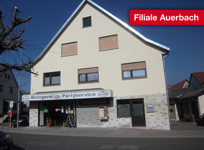 Unsere Metzgerei-Filiale in Elztal-Auerbach